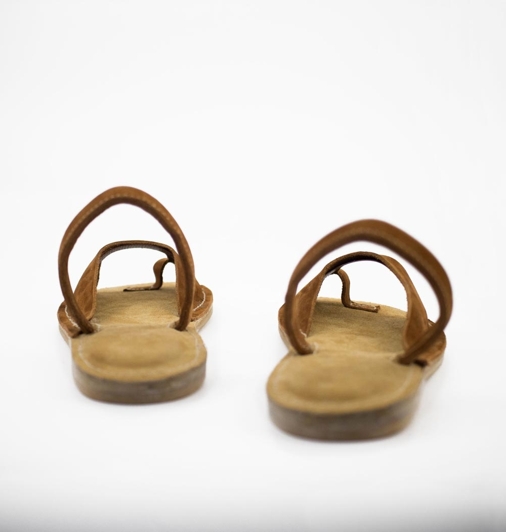 """Tailored leather sandals """"EMBAT"""""""