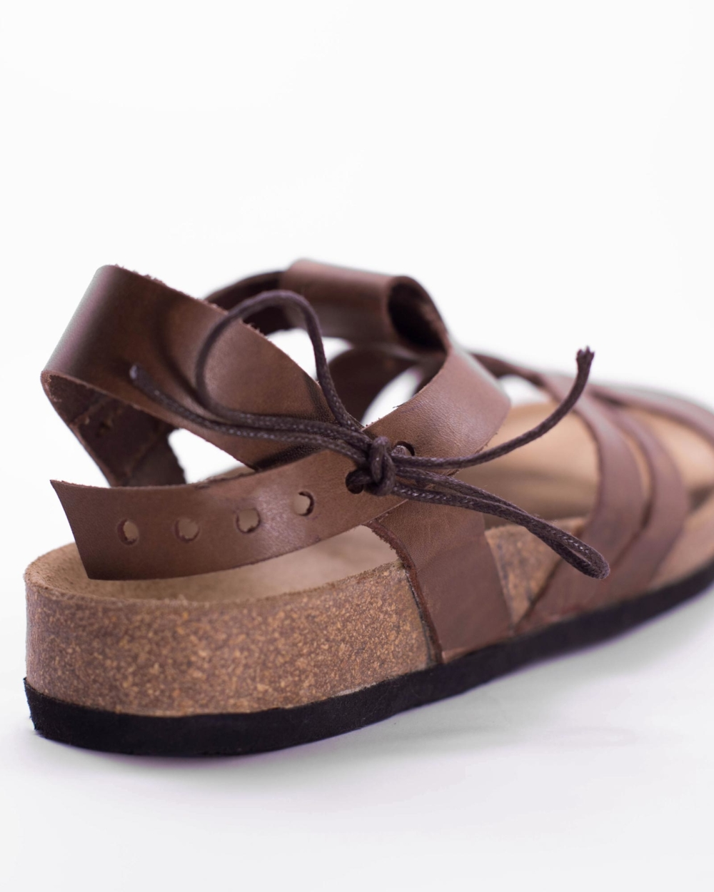 "Leather sandal ""ABDO"""