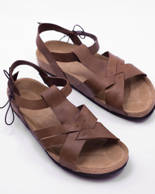 "Leather sandal ""ABDO"""
