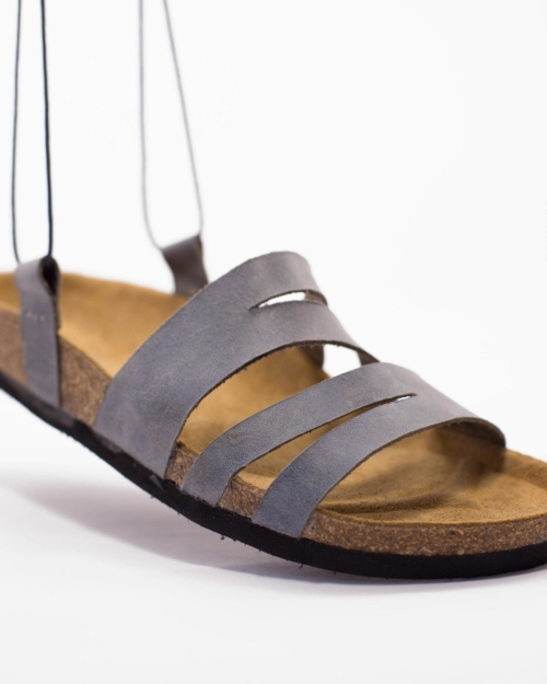 "Leather Sandals ""ZIG-ZAG"""